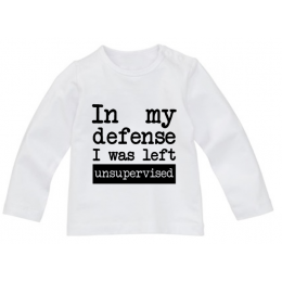 Shirt In my defense