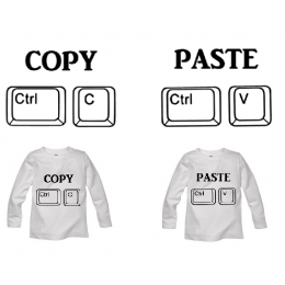 Set Longsleeve Copy Paste