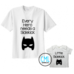 Set Sidekick shirts